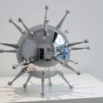 <p><strong>Modell, Kunststoff, Chrom-Optik-Beschichtung</strong></p>