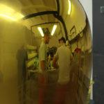 <p><strong>Beschichtung: farbige Lasur auf Edelstahl poliert, mehrfach mit Klarlack versiegelt, hochglanzpoliert<br /> </strong>Horst Gläsker, Feu, Eau, Terre, Air &#8211; 2010, Cité judiciaire, Plateau du Saint Esprit, Luxembourg<strong><br /> </strong></p>
