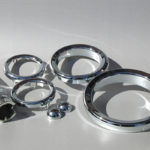 <p><strong>Laser sinter parts, chrome optics coating</strong></p>