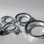 <p><strong>Lasersinter-Bauteile in Chrom-Optik-Beschichtung</strong></p>
