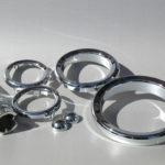 <p><strong>Lasersinter-Bauteile in Chrom-Optik beschichtet</strong></p>