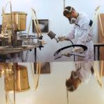 <p><strong>Kunstprojekt Eckhart Hahn, Chrom-Optik-Beschichtung</strong></p>