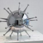 <p><strong>Modellbau Milde, &#8222;Erreger&#8220;, Kunststoff, Chrom-Optik-Beschichtung</strong></p>