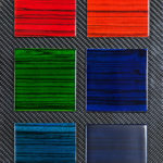 <p><strong>Wood samples, Markassa, colour glazed<br /> </strong></p>