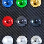 <p><strong>Chrom-Optik-Beschichtung, Muster, farbig lasiert</strong></p>