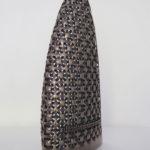 <p><strong>Materialise, 3D-Druck, PS Spritzmetall Bronze, geschliffen, patiniert</strong></p>