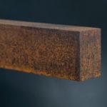 <p><strong>Jürgen Klück, light, steel, PS real metal steel, rust patina</strong></p>