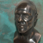 <p><strong>3D bust, PS real metal coating bronze, patinated</strong></p>