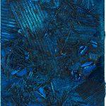 <p><strong>Coating: Chrome optics blue<br /> </strong>Anselm Reyle, Untitled, 2007, die-cast aluminium</p>