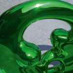 <p><strong>Coating: Chrome optics green<br /> </strong>Anselm Reyle, Harmony, bronze</p>