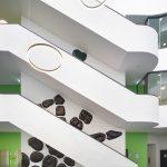 <p><strong>Coating:</strong> <strong>Special lacquering, colour change depending on temperature, clear coat sealing semi-matt</strong><br /> Katrin Wegemann, 27° C, 2015, Installation Humbold-Universität Berlin</p>