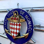 "<p><strong>Nedcam, Logo ""Yacht Club de Monaco"", chrome-plated, tinted gold optic<br /> </strong></p>"