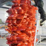 <p><strong>Coating: special coating, sealed with clear coat<br /> Tony Cragg, Versus, 2012<br /> </strong></p>