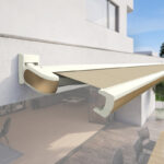 <p><strong>Markilux Selection SMX-08, Awnings, effect lacquering pebble beige matt</strong></p>