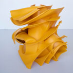 <p><strong>Lacquering: Melon yellow matt<br /> </strong>Tony Cragg, Parts of Life, 123x100x100, Bronze, 2014<br /> Photo by: Michael Richter</p>