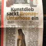 <p><strong>Beschichtung:</strong> <strong>PS Echtmetall Bronze</strong><br /> Marcel Walldorf, Das Patriarchat des kleinen Mannes, 2020</p>